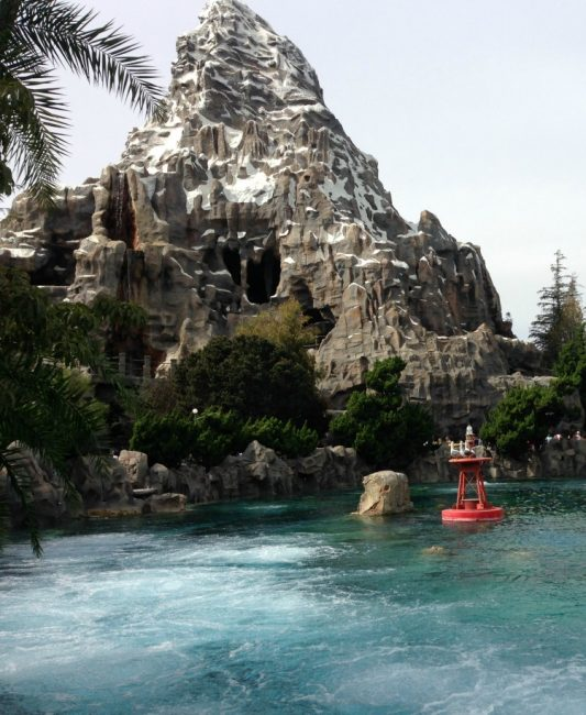 Nemo Submarines near the Matterhorn at Disneyland