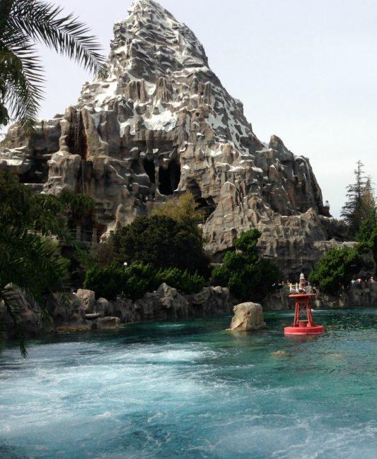 Nemo Submarines near the Matterhorn at Disneyland