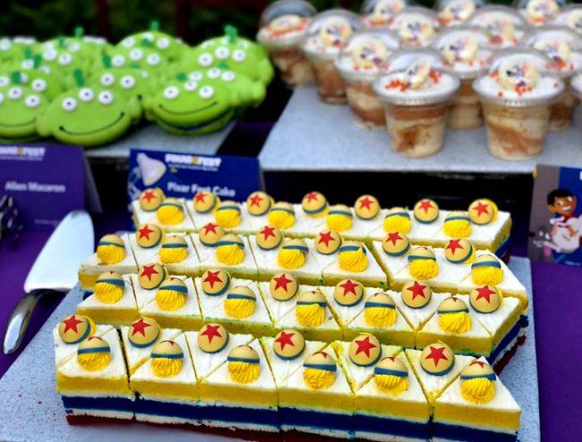 Pixar fest desserts at Disneyland