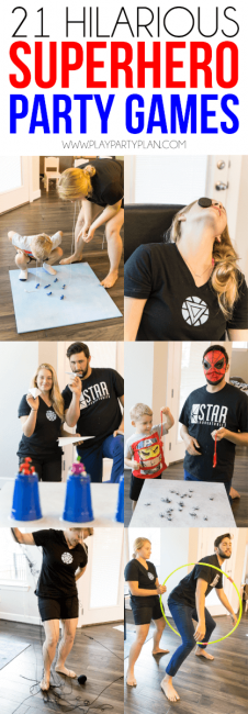 Superhero party ideas: 21 avengers party games