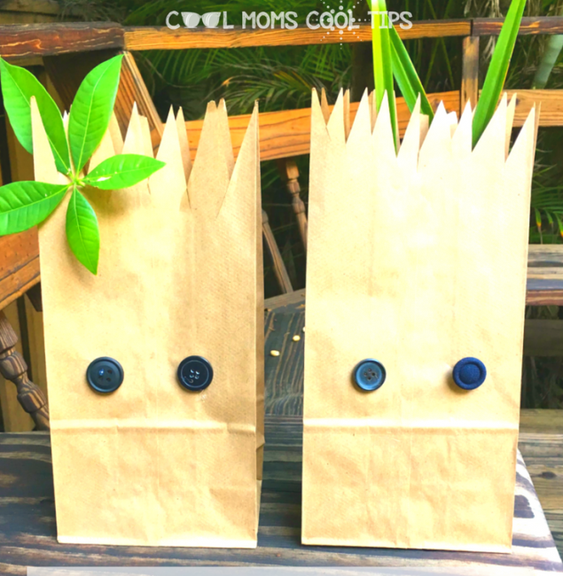 baby-groot-sandwich-bags- for superhero party ideas