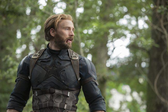 Marvel Studios' AVENGERS: INFINITY WAR..Captain America/Steve Rogers (Chris Evans) Nomad in Infinity War