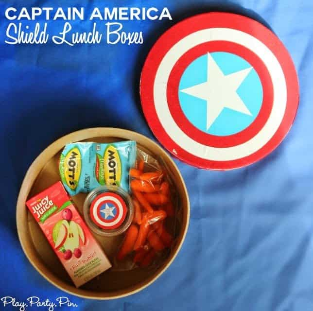 captain america shield lunch boxes