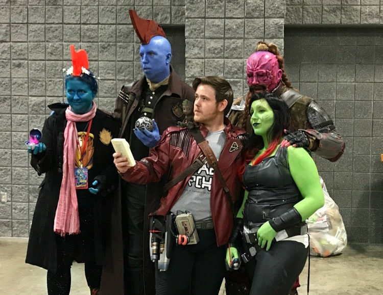 Guardians of the Galaxy cosplay at Awesome Con- it's Mary Poppins, Y'all!