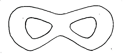 The Incredibles Mask Template perfect for s Superhero birthday party. Use to make felt masks or cookies or whatever your superhero needs!