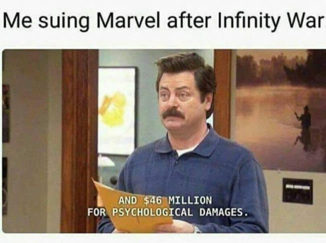 Image result for avengers infinity war meme