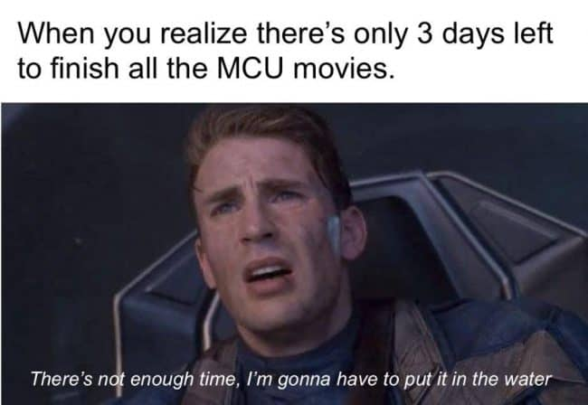 infinity war memes marvel movies to watch in order