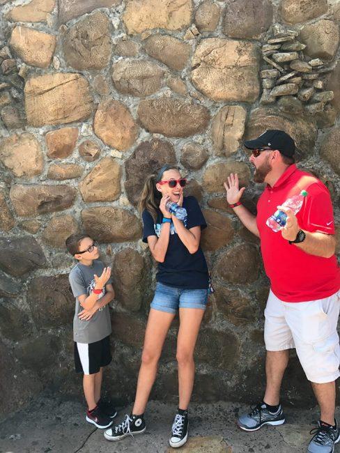Little Mermaid Wall at Disney World