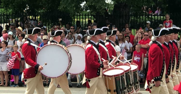 Washington DC 4th of july free events: the parade!