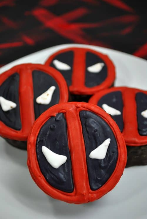 Deadpool ding dong cake recipe finished image