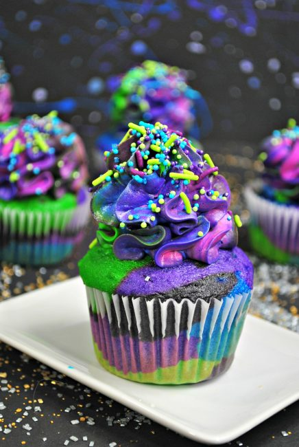 Star Wars Cupcakes: the Galaxy Cupcake