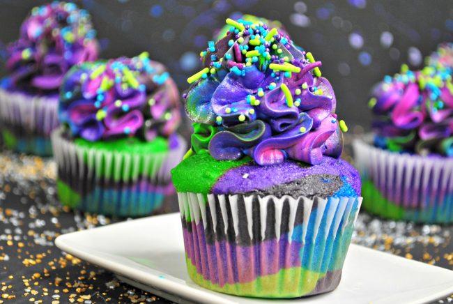 Star Wars Cupcakes: Galaxy Cupcake final produc