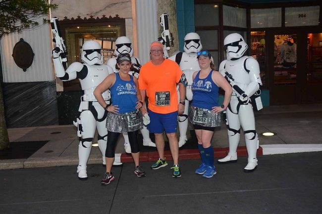 Star Wars Dark Side 10K Stormtrooper rundisney star wars races