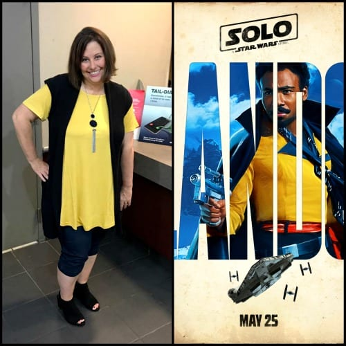 Lando Star Wars Disneybounding