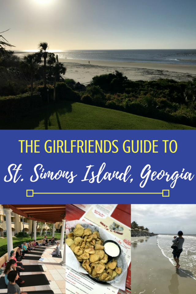 The Girlfriends Guide to St. Simons Island Georgia: grab your bestie and hit the beach! Traveling with a girlfriend is good for your soul so get out there and explore Georgia together. Here are some ways to make St. Simons Island a perfect Girlfriends Getaway. #exploregeorgia #stsimonsisland #stsimons #travel #beachvacay #beach #summer #bestfriends #traveltips