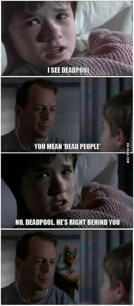 Dead people, Deadpool meme.