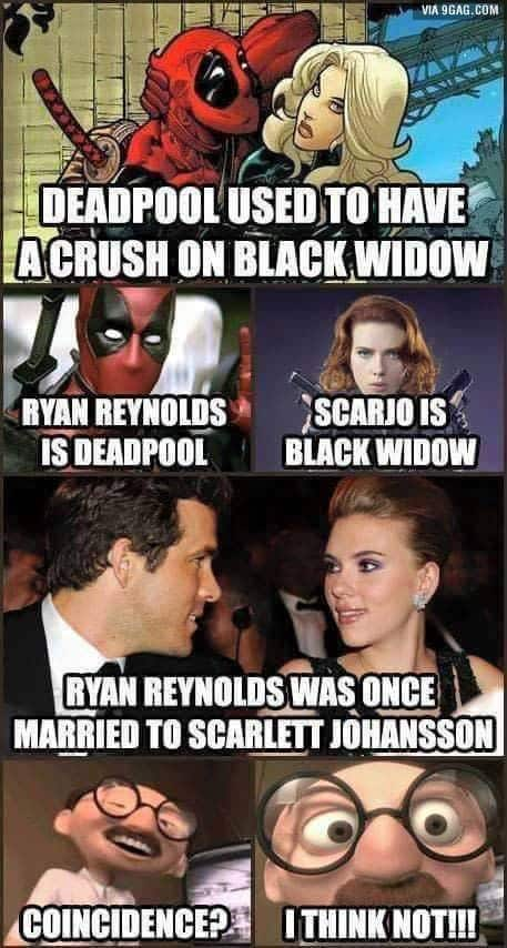 A little Marvel, a little Deadpool, a little Incredibles all in one perfect Deadpool meme.