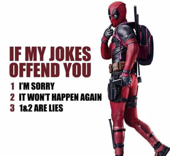 The cleanest deadpool meme I could find for Deadpool parent movie review