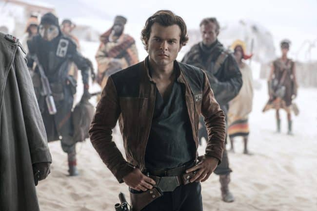 Alden Ehrenreich is Han Solo in star wars movie order