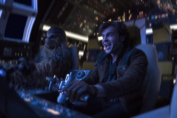 Han Solo and Chewbacca in A Solo Story: Star Wars movies in order