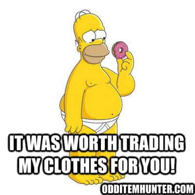Homer Simpson donut meme national donut day