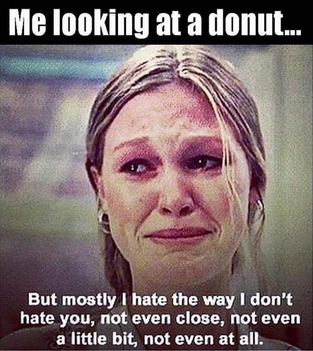 10 Things I hate about you donut meme national donut day