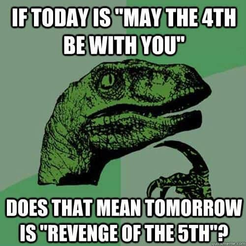 may the 4th memes dino