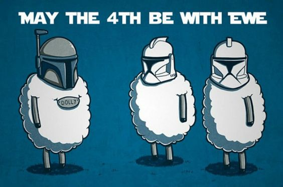 may the 4th meme sheep in helmets star wars meme May the fourth be with you meme