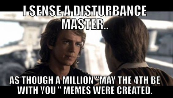 may the 4th memes a million star wars memes