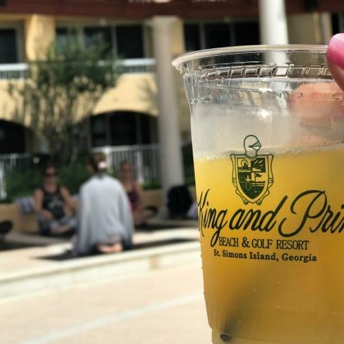 mimosa at the King and Prince Resort