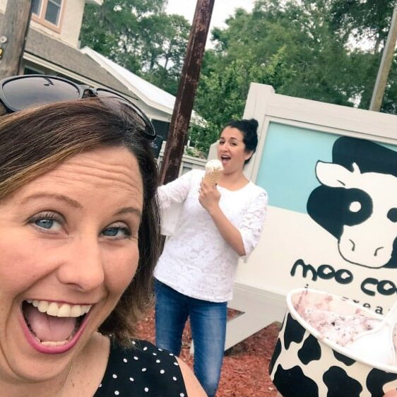 Don't forget Ice Cream from Moo Cow when you hit up the St Simons Island restaurants