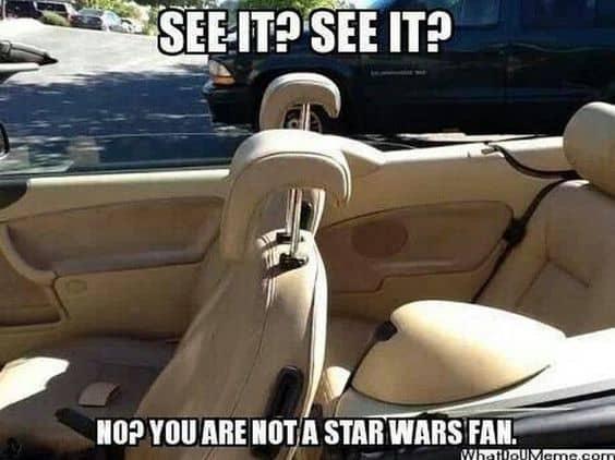 star wars meme fan