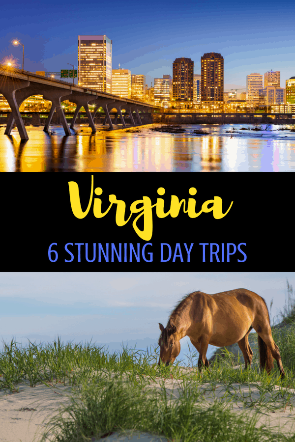 6 Stunning Day Trips Across Virginia: from cities to mountains, the state needs to be explored with kids! 6 Virginia Day Trips #travel #familytravel #virginia #roadtrip #family