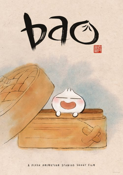 Disney Pixar's Bao poster- Pixar short in front of Incredibles 2