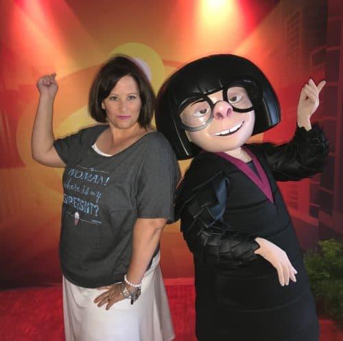 Meet Edna Mode at Disneyland