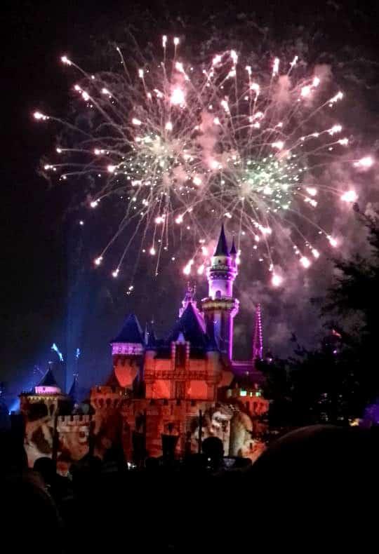 Disneyland Pixar Fest Fireworks