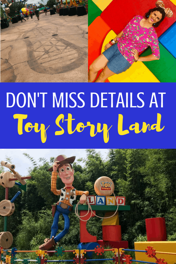 Don't Miss Details at Toy Story Land! #ToyStoryLand #ToyStory #DisneyWorld #DisneyTravel