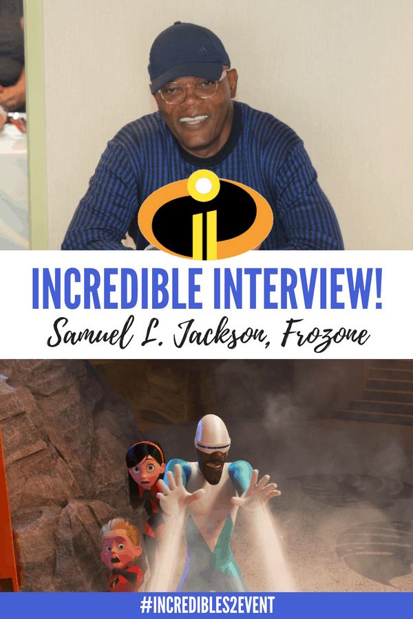 The Incredibles are back! Incredibles 2 movie hits theaters on June 15. Check out what Samuel L. Jackson, Frozone, has to say about the Incredibles sequel & working with Brad Bird. #Incredibles2 #Incredibles2event #Incredibles #Pixar #movies #interviews