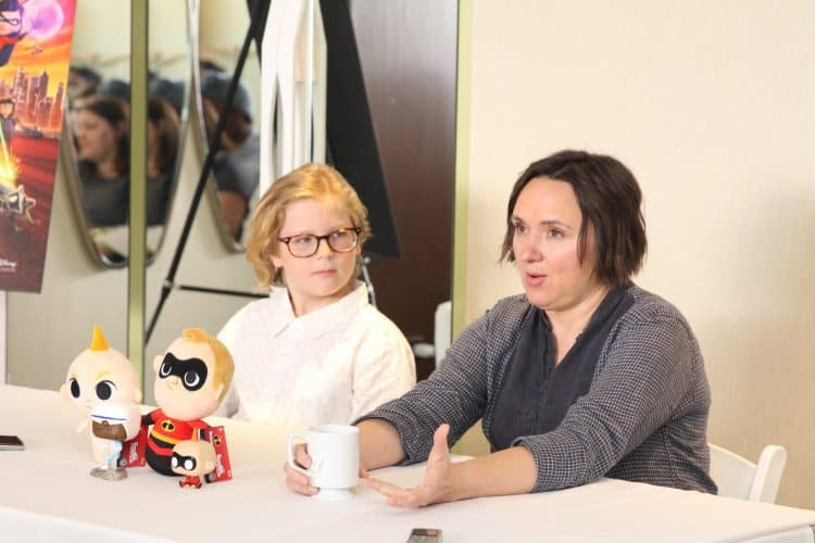 Meet the Incredibles 2 Siblings Sarah Vowell & Huck Milner | #Incredibles2Event