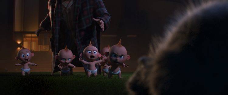 Jack-Jack multiplying is one of his superpowers in Incredibles 2