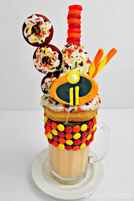 Incredibles Freak Shake Incredibles party ideas and recipes
