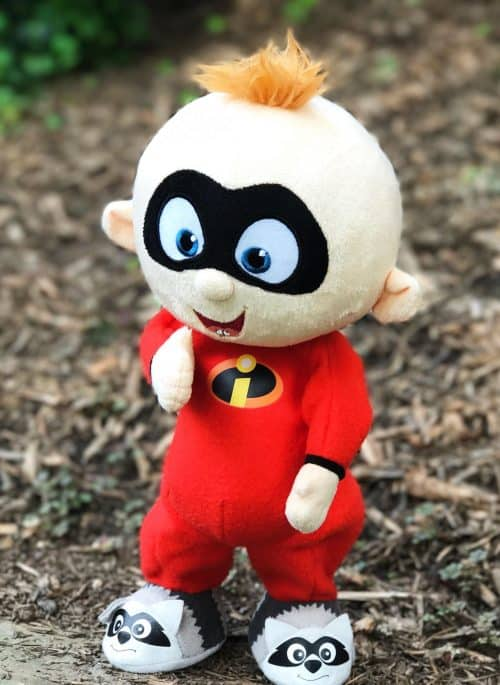 the Incredibles toys Jack Jack Walking and Laughing Doll