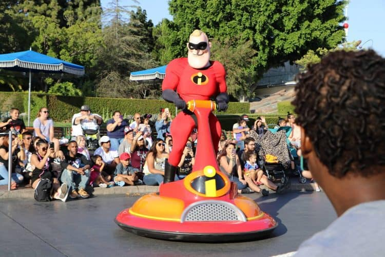 Pixar Play Parade Mr. Incredibles
