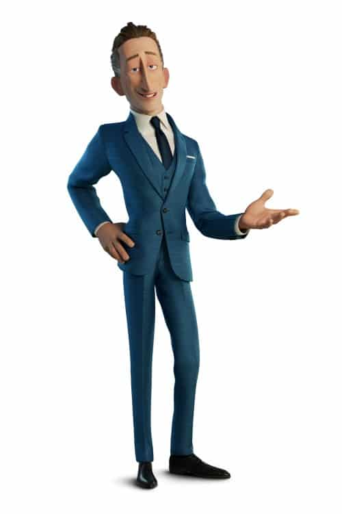 Winston Deavor from Incredibles 2
