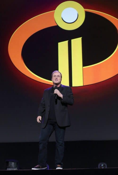 Director Brad Bird at Disney's D23 EXPO 2017