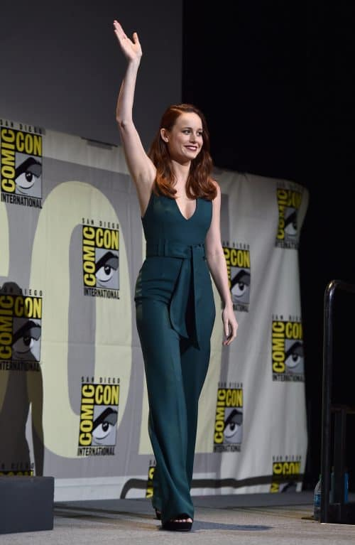 Bri Larson, Captain Marvel, Marvel Studios Hall H Panel