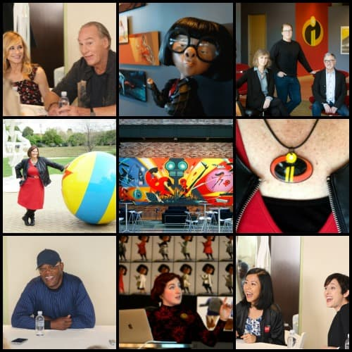 Incredibles 2 Event posts from Pixar and Los Angeles