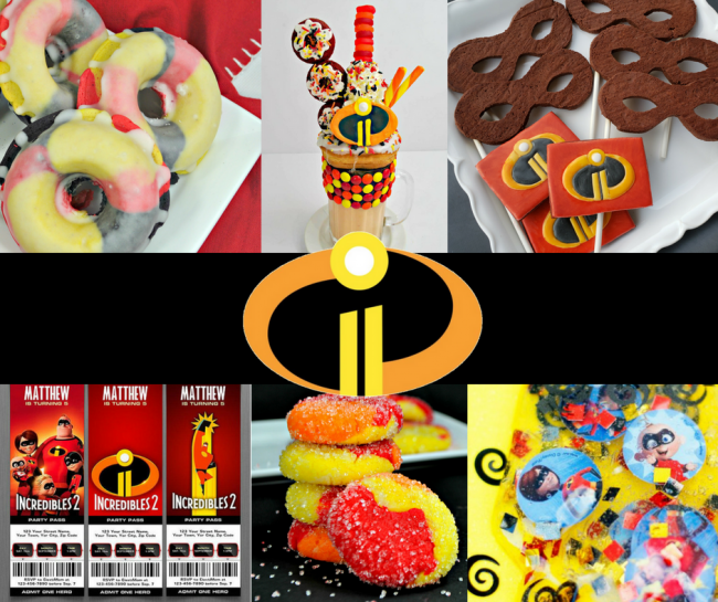 Incredibles Birthday Party Ideas Incredibles Cake