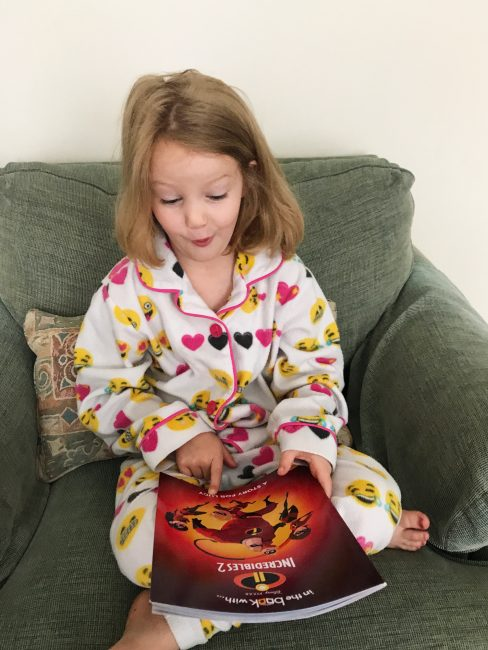Incredibles 2 personalized book for kids.