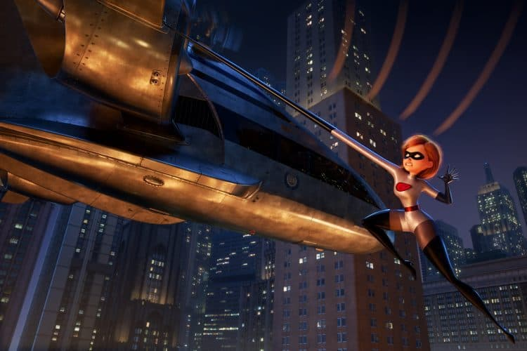 """A BIT OF A STRETCH ? Elastigirl is called on to lead a campaign to bring Supers back in ?Incredibles 2"""""""